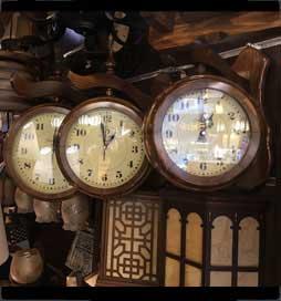 ساعت-دوطرفه-چوبی-کوچک