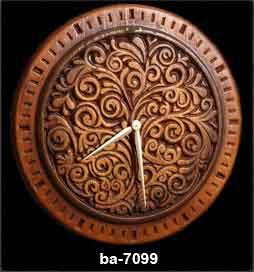 ساعت-چوبی-دیواری-میلان