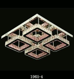 لوستر سقفی مدرن 1965 مربع سایز 60