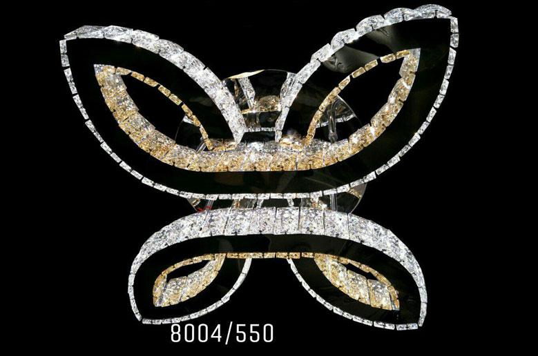 لوستر سقفی کریستالی 8004 قطر 55