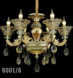 لوستر شاخه ای لوکس 6001