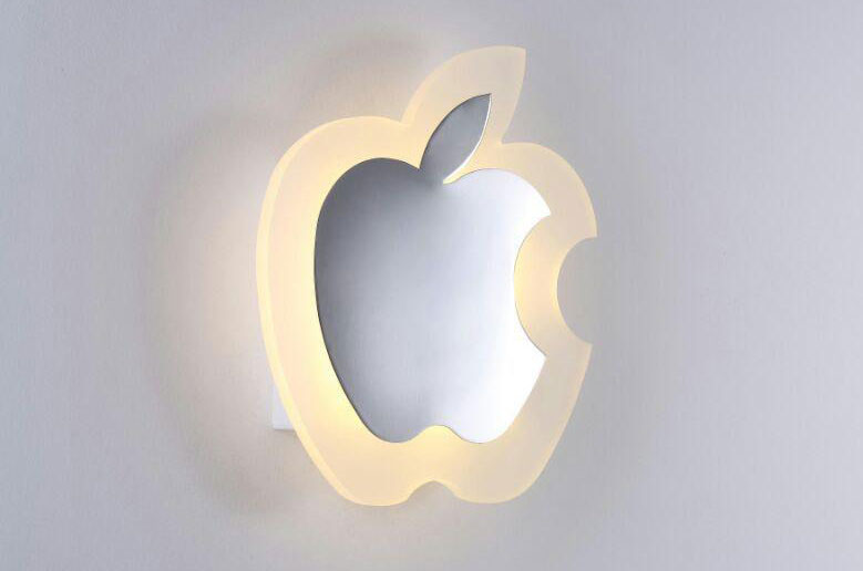 لوستر دیواری مدرن سیب