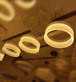 چراغ آویز مدرن 2011 سه شعله خطی