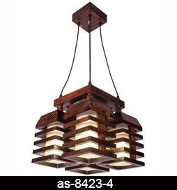 لوستر-اویز-چوبی-8423-4