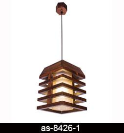 لوستر-اویز-چوبی-8426-تکی