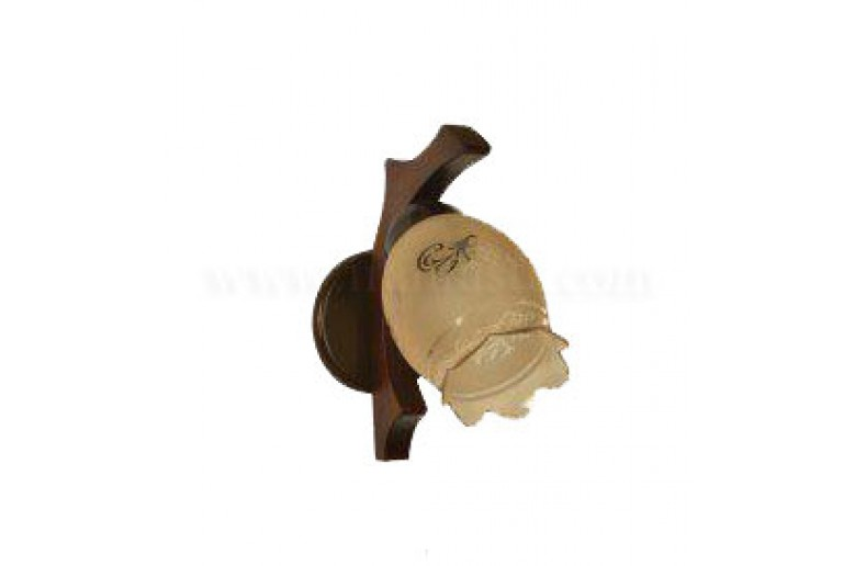دیوارکوب چوبی ارکیده