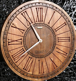 ساعت چوبی دیواری آتن