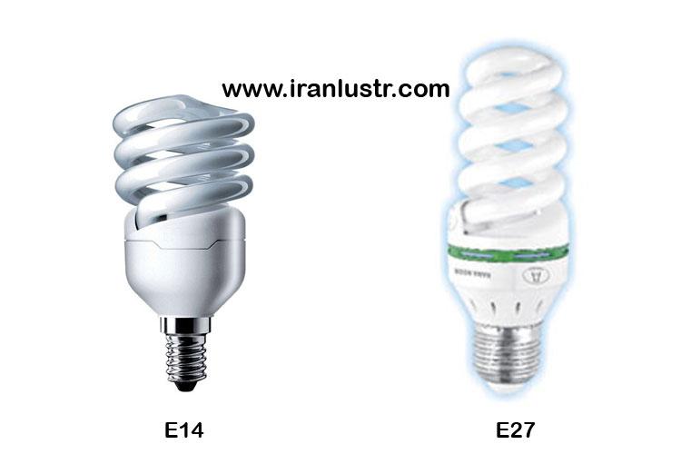 لامپ کم مصرف t2