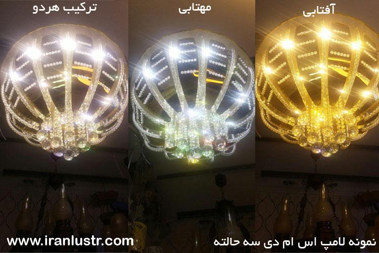 ترکیب رنگ لامپ اس ام دی