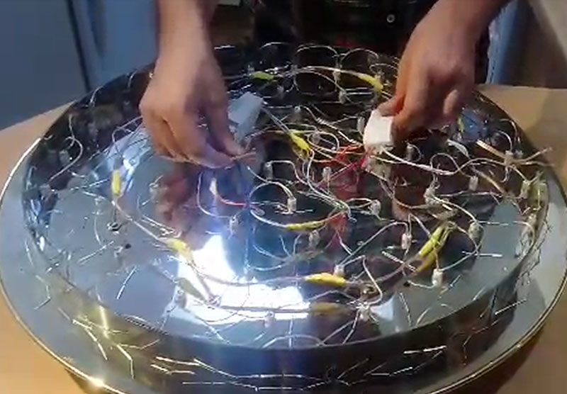 led chandelier trans