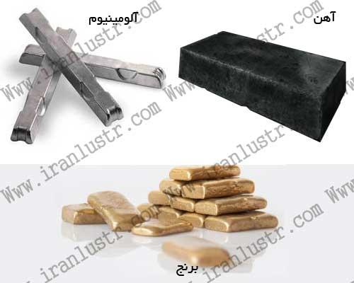 انواع فلز مورد استفاده در ساخت لوستر